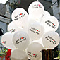 "Will You Marry Me"" Printing Latex Balloon - Set of 6 3204"