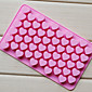 Love Heart Shape Chocolate Tray, Silicone 55 Holes(Color Randoms) 3204