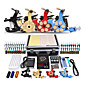 Professional Tattoo Kit 4 Machine Gun Power Supply 40 Color Inks 3204
