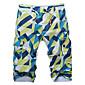 Men's Leisure Plus-size Cotton Ling Block with 5 Minutes of Pants Beach Pants 3204