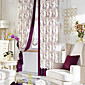 (Two Panels) Country Classic Floral Energy Saving Curtain 3204