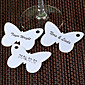 Butterfly Shaped Place Card with A Hole - Set of 12 3204