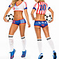 FIFA World Cup Brazil 2014 USA Football Baby Women's Costume 3204