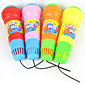 Kids Toy Pretend Play Sound Plastic Vibrate Kid's Microphone 3204