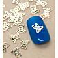 200PCS Cute Baby Bear Shape Slice Metal Nail Art Decoration 3204