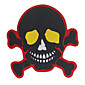 Motorcycle Stickers Skull 3204