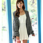 Women's Autumn And Winter Warm Fashion Bat Sleeve Knit Sweater 3204