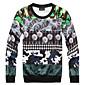 Men's Fashion Print Full Roses 3D Sweatshirt 3204