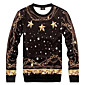Men's Fashion Print Stars 3D Sweatshirt 3204