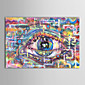 Oil Painting Abstract Eyeball with Stretched Frame Hand-Painted Canvas 3204