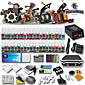 Professional Tattoo Kits 4 Guns Machines 54 Ink Power Supply 3204