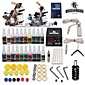 Tattoo Machine Kits with 2 Stainless Steel  Tattoo Machines and 20 Colors 5ml Tattoo Inks 3204