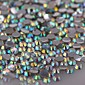 1440PCS Colorful Flatback Crystal Clear AB Iron On Rhinestone Gems 3mm Handmade DIY Craft Material 3204