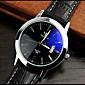 High-grade Leather Blue Ray Glass Business Quartz Watch Wrist Watch Cool Watch Unique Watch 3204