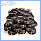 40Pcs 2Kg Lot Wholesale Cheap 5A Brazilian Virgin Hair Body Wave 100% Human Hair Extensions Color1B 3204