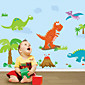 Wall Stickers Wall Decals, Dinosaur PVC Wall Stickers 3204