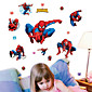 Wall Stickers Wall Decals,Spiderman Collection PVC Wall Stickers 3204