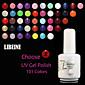LIBEINE UV Color Gel Nail Polish No.037-049 (15 ml,Assorted Colors) 3204