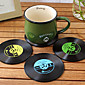 Vintage Vinyl Coaster Groovy CD Record Table Bar Drinks Cup Mat 1Pc (Ramdon Color) 3204