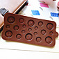 Button Shaped Candy Chocolate Muffin Baking Mould Mold (Random Color) 3204