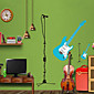 Wall Stickers Wall Decals Style Guitar PVC Wall Stickers 3204
