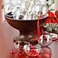 Clear Plastic Acrylic Fillable Ball Ornament 80mm - Pack of 5 3204