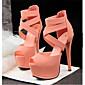 Women's Shoes Leatherette Stiletto Heel Heels Sandals Casual Multi-color 3204