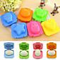 Cute 6Pcs Boiled Egg Sushi Rice Mold Bento Maker Sandwich Cutter Decorating(Random Color) 3204