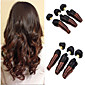 "3Pcs/Lot 8""-24"" Brazilian Virgin Hair,Color 1b/30 Funmi Hair ,Ombre Hair Extensions, Factory Wholesales Hair Bundles. 3204"