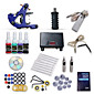 Dragonhawk Starter Tattoo Kit 1 Machine s 4 Inks Power Supply Needles 3204