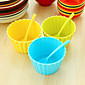 Fruit Ice Cream Salad Dessert Bowls with Matching Spoons (Random Color) 3204