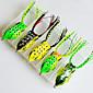 Set of 5  Fishing Bait Ray Frog Lures 3204
