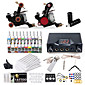 Dragonhawk Complete Tattoo Kit 2 Machine  20 Color Inks Power Supply 3204