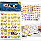 2015New 960pcs/pack emoji stickers Popular Emoji stickers For Mobile Phone Kids Rooms Home Decor 3204