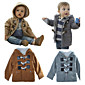 Retail Xams Toddler Baby Boys Warm Winter Hoodies Trench Coats Kids Snowsuits Size 0-24Month Jacket Outwear Clothes 3204