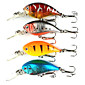 4pcs Hengjia Crank Baits 4.6g  55mm Fishing lures 3204