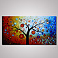 Hand-Painted Abstract Tree Oil Painting on Canvas Unframed 3204