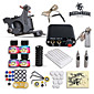 Dragonhawk High Quality Complete Tattoo Kit Set 1 tattoo Machine Power Supply  4 Color Inks 3204