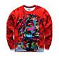 Men's Print Casual / Work / Formal / Sport Hoodie  Sweatshirt 3204