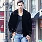 Men's Fashion Plus Size Faux Fur Outerwear 3204