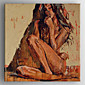 Oil Painting Immpression People Painting Hand Painted Canvas with Stretched Framed 3204
