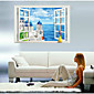 9234C Beautiful Scenery PVC Wall Stickers 3D Wall Stickers for Dining Room Kid Room Girl Room Decorations Wall Decals 3204