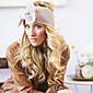 Women's Fashion Knitting Warm Cute Bowknot Hoop Hat 3204