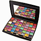 48 Mixed Colors Matte Shimmer Eyeshadow Palette Naked Nude Eye Shadow Brush Glitter Makeup Set 3204