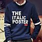 Men's Long Sleeve Hoodie  Sweatshirt , Cotton Print 3204