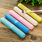 Travel Travel Toothbrush Container/Protector / Inflated Mat Portable Toiletries Plastic 3204