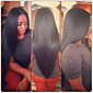 20inch Lace Front Hair Wigs 100% Human Hair Mongolian Straight Remy Hair Wigs for Women 3204