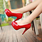 Women's Shoes Patent Leather Pumps OL Style Stiletto Heel Heels / Comfort Heels Dress / Casual 3204