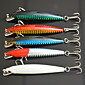 5pcs 85mm 9g Fishing Bait Minnow Lure Random Color 3204