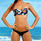 Women's New Arrival Sexy Fashion Floral Push-up Halter Bikinis 3204